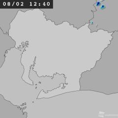 天気 レーダー 刈谷 雨雲